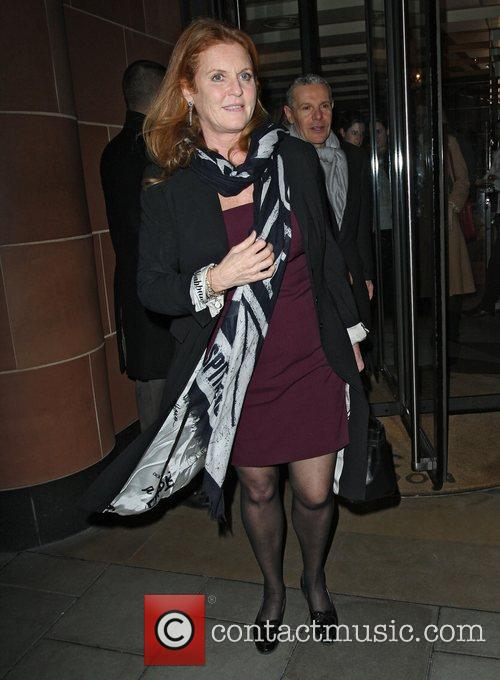 Sarah Ferguson, Duchess, York and C London 5