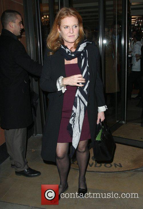Sarah Ferguson, Duchess, York and C London 4