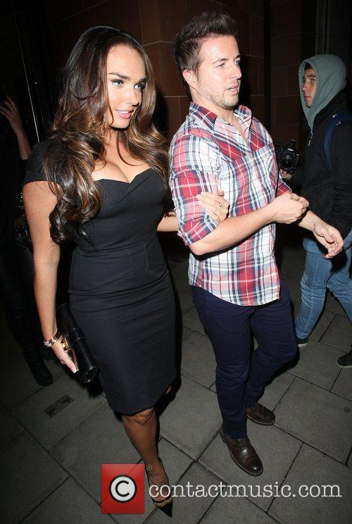 tamara ecclestone leaving c london restaurant with 4187088