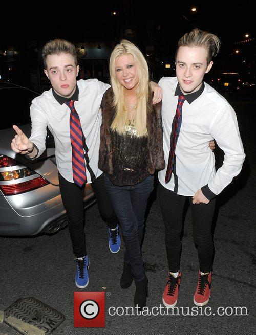 Tara Reid, Grimes and Jedward 2
