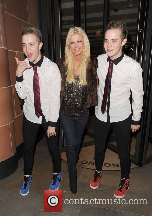 Tara Reid, Grimes and Jedward 3