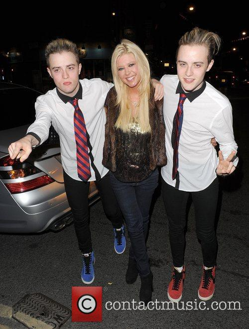 Tara Reid, Grimes and Jedward 8