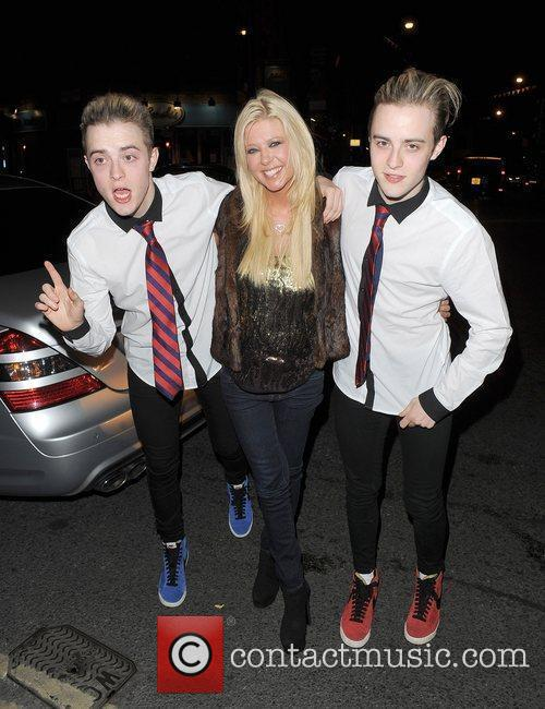 Tara Reid, Grimes and Jedward 15