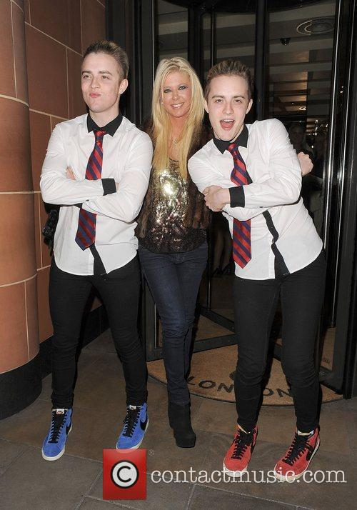 Tara Reid, Grimes and Jedward 16