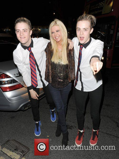 Tara Reid, Grimes and Jedward 17