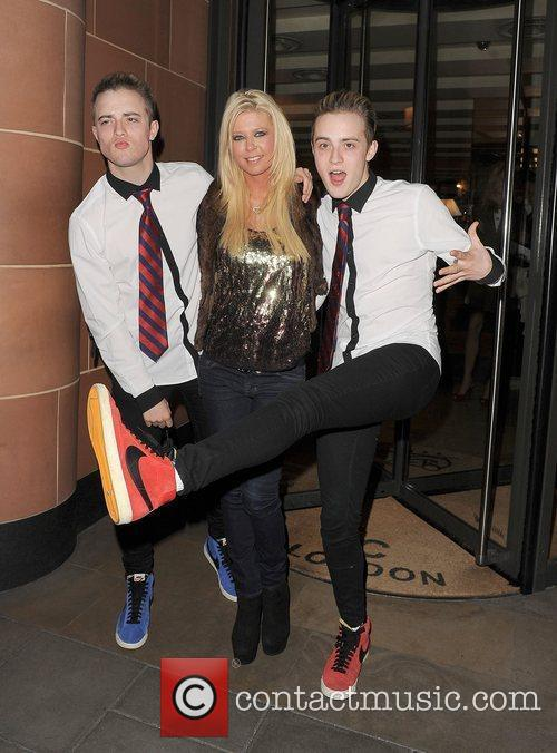 Tara Reid, Grimes and Jedward 18