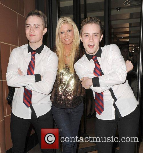 Tara Reid, Grimes and Jedward 19