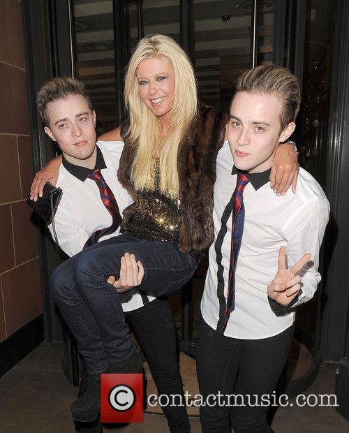 Tara Reid, Grimes and Jedward 20
