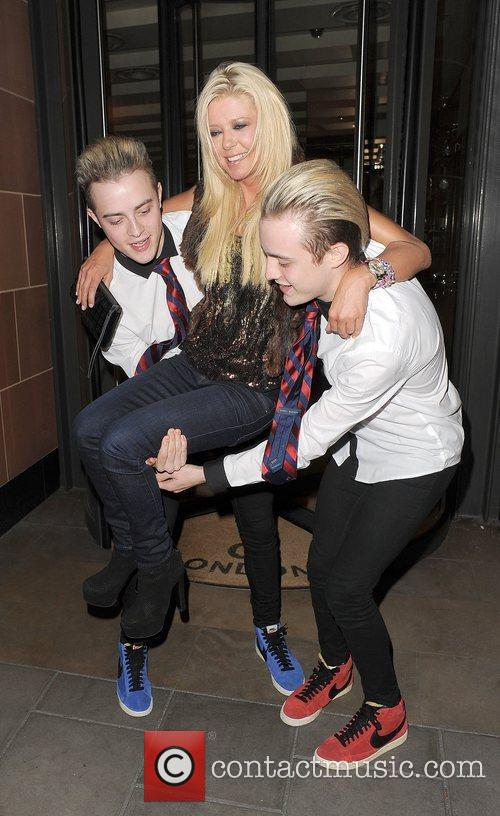 Tara Reid, Grimes and Jedward 21