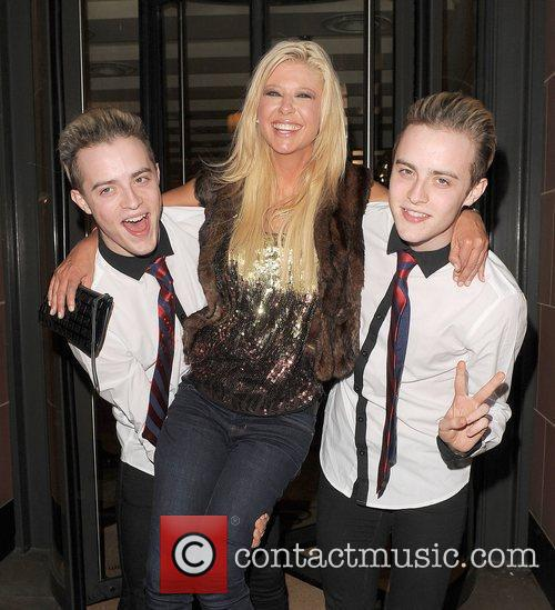 Tara Reid, Grimes and Jedward 22