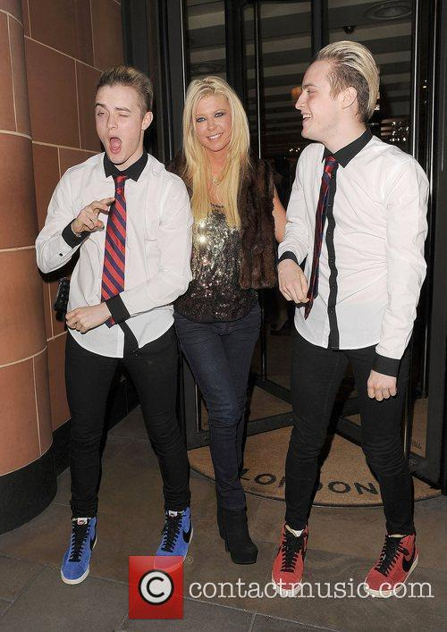 Tara Reid, Grimes and Jedward 23