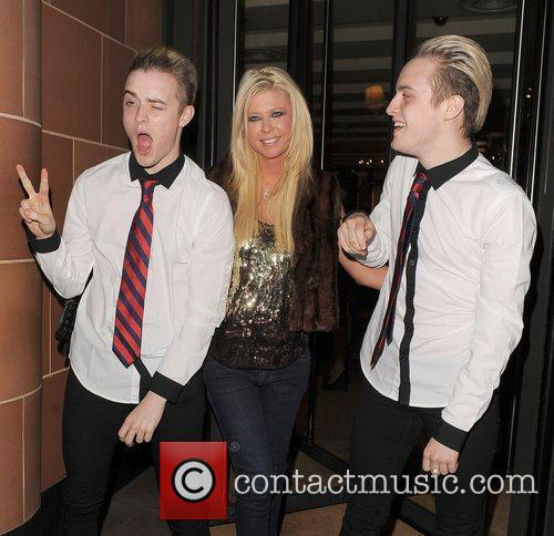 Tara Reid, Grimes and Jedward 24