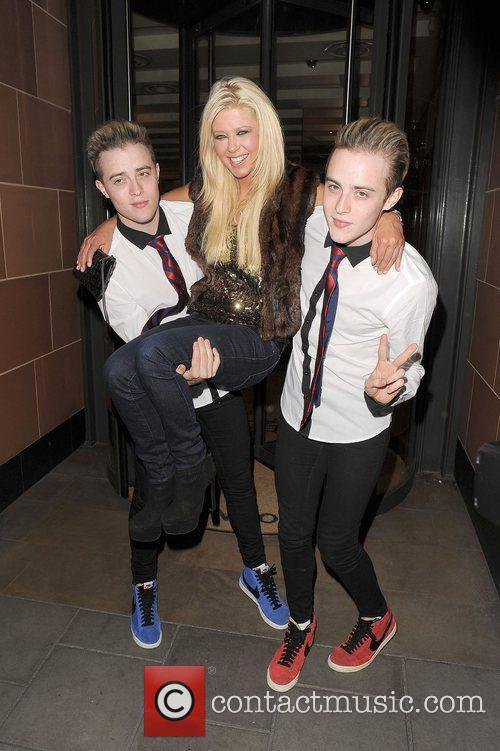 Tara Reid, Grimes and Jedward 26