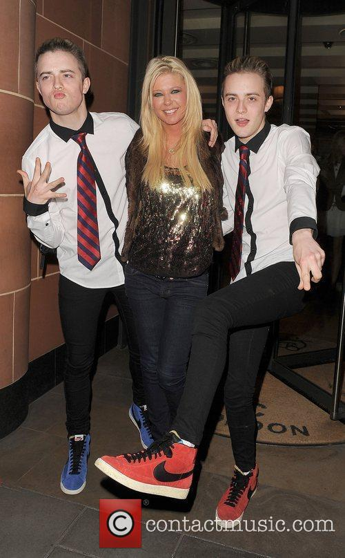 Tara Reid, Grimes and Jedward 27