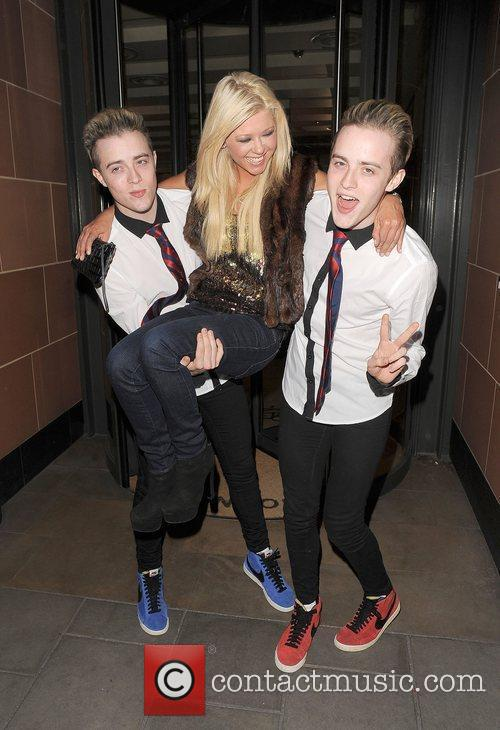 Tara Reid, Grimes and Jedward 28