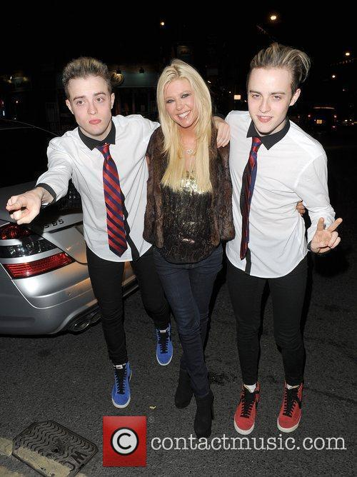 Tara Reid, Grimes and Jedward 30