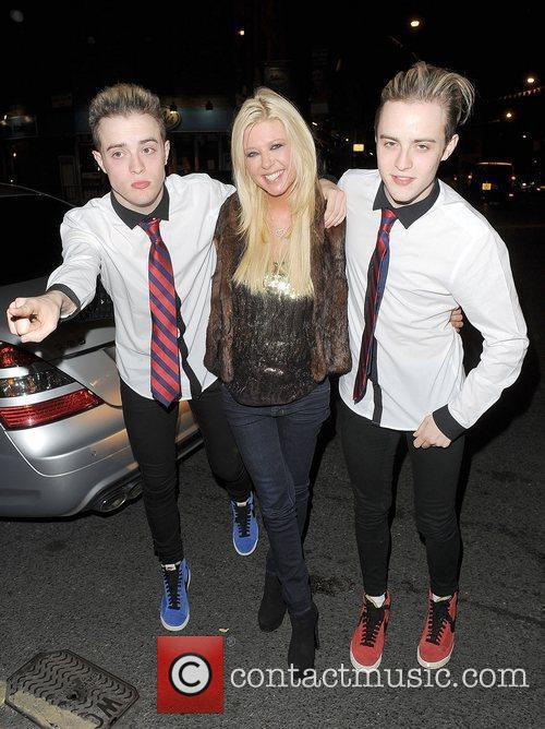 Tara Reid, Grimes and Jedward 35