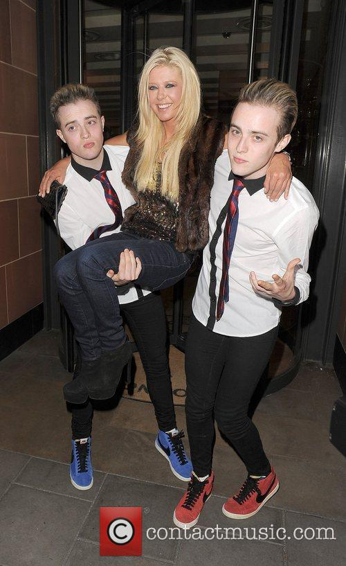 Tara Reid, Grimes and Jedward 36