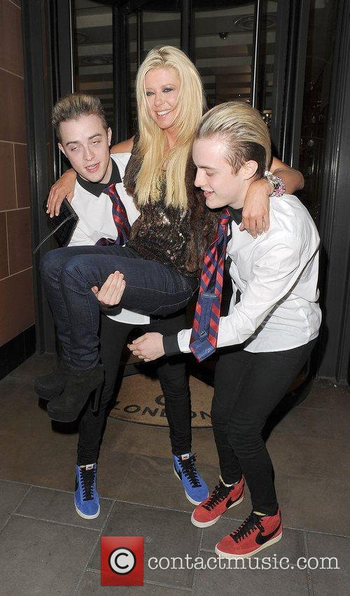 Tara Reid, Grimes and Jedward 37