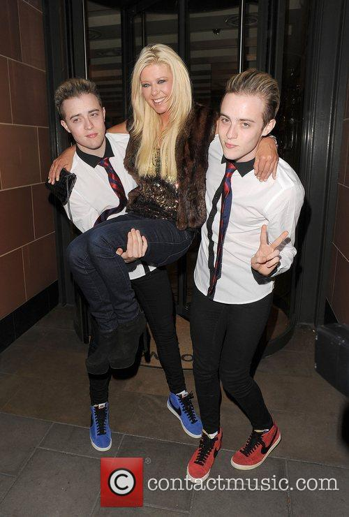 Tara Reid, Grimes and Jedward 38