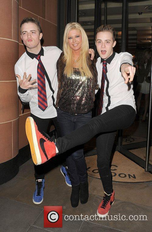 Tara Reid, Grimes and Jedward 40