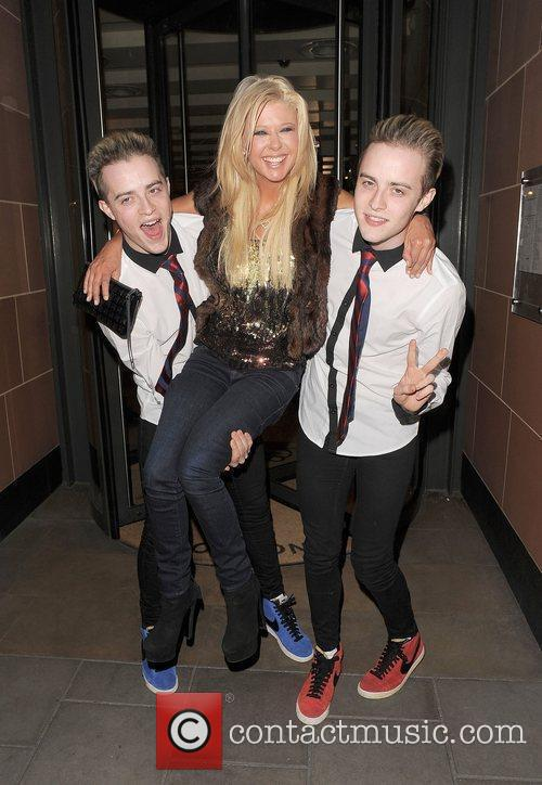 Tara Reid, Grimes and Jedward 43