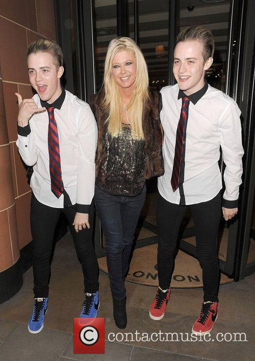 Tara Reid, Grimes and Jedward 44