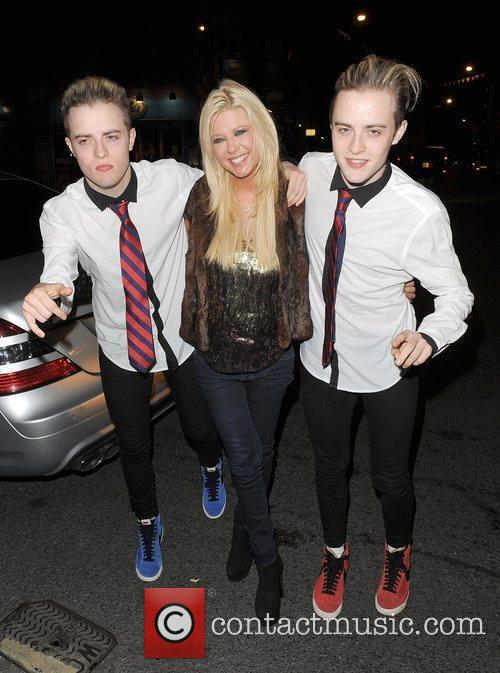Tara Reid, Grimes and Jedward 47