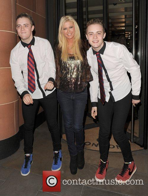 Tara Reid, Grimes and Jedward 48