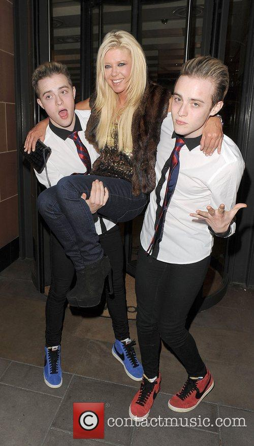 Tara Reid, Grimes and Jedward 50