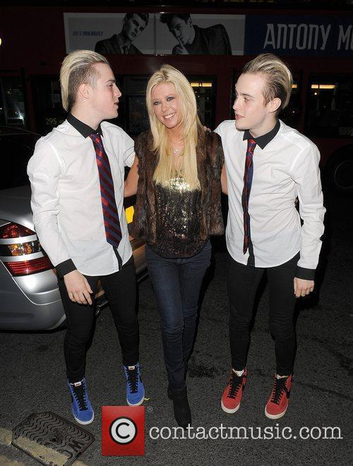 Tara Reid, Grimes and Jedward 51