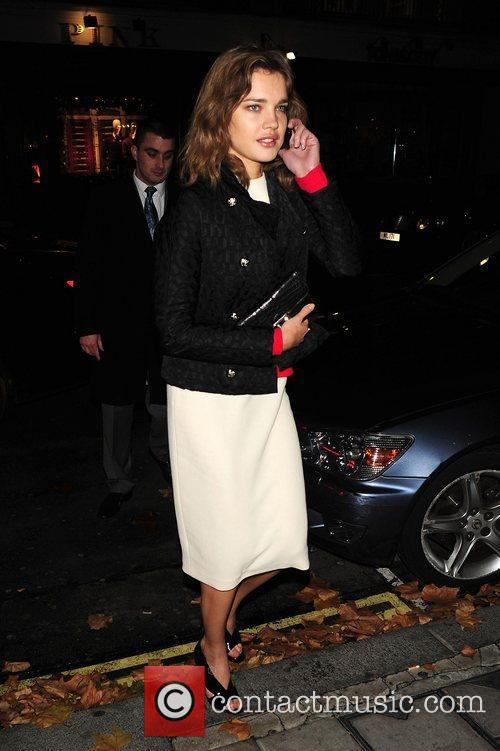 Natalia Vodianova at C London restaurant  London,...