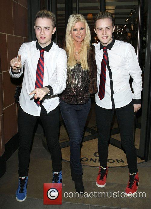 Tara Reid, Grimes and Jedward 55