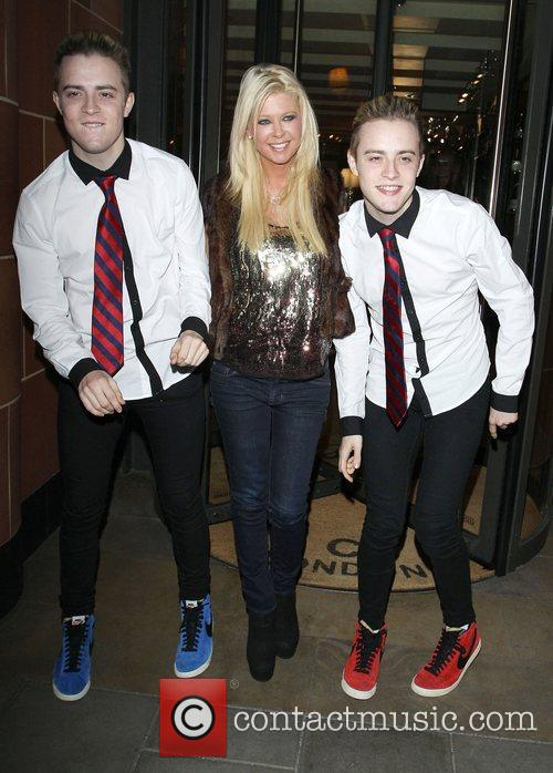 Tara Reid, Grimes and Jedward 56