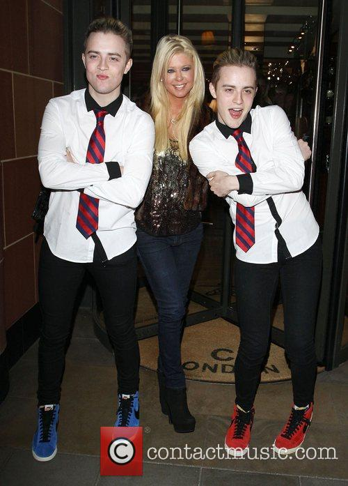 Tara Reid, Grimes and Jedward 57