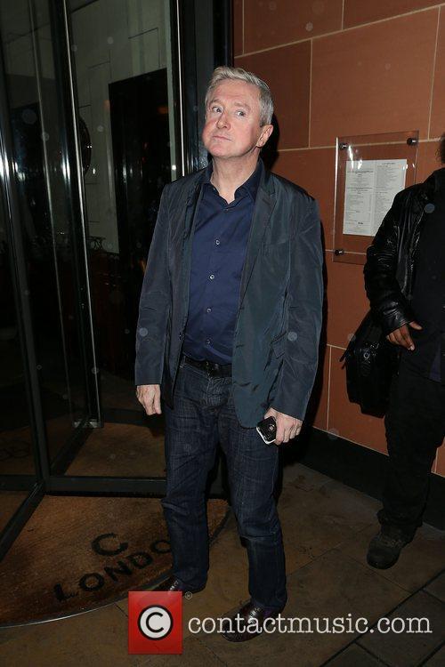 Louis Walsh  Arrives at C London restaurant...