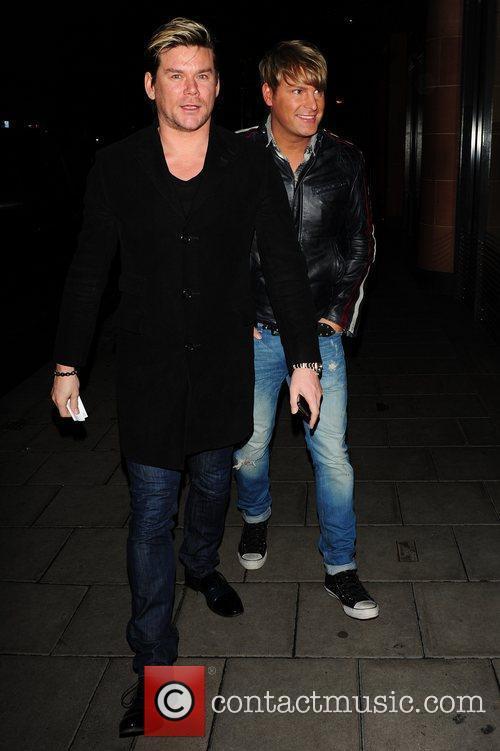 Gary Cockerill and Phil Turner at C London...