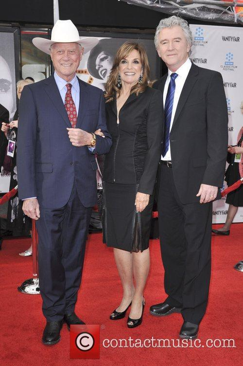 Larry Hagman, Linda Gray, Patrick Duffy and Grauman's Chinese Theatre 1