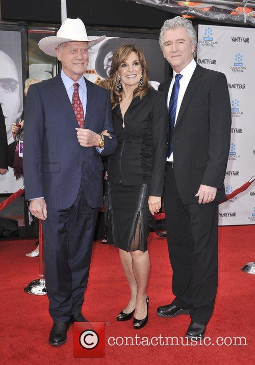 Larry Hagman, Linda Gray, Patrick Duffy and Grauman's Chinese Theatre 2