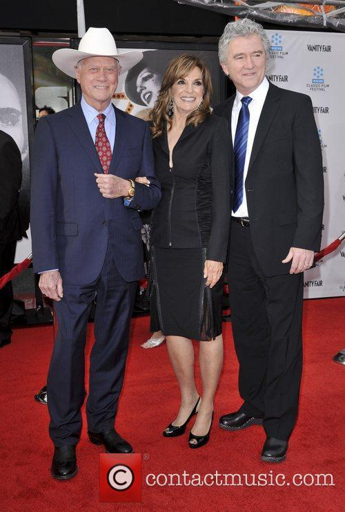 Larry Hagman, Linda Gray, Patrick Duffy and Grauman's Chinese Theatre 3