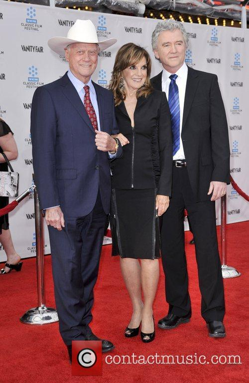 Larry Hagman, Linda Gray, Patrick Duffy and Grauman's Chinese Theatre 4