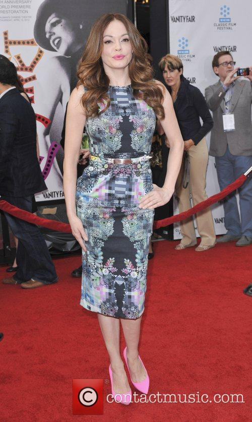 Rose Mcgowan and Grauman's Chinese Theatre 11