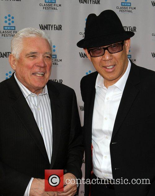 G.W. Bailey, Michael Paul Chan at the TCM...