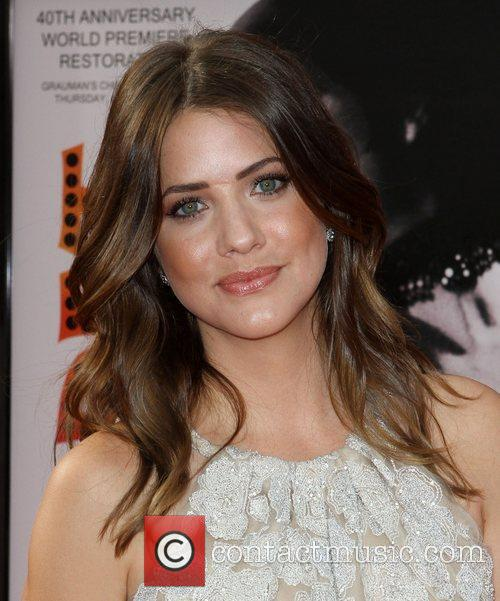 Julie Gonzalo and Grauman's Chinese Theatre 5