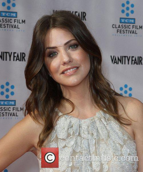 Julie Gonzalo and Grauman's Chinese Theatre 1