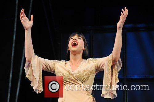 Michelle Ryan,  at the West End musical...