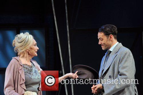Sian Phillips and Matt Rawle,  at the...