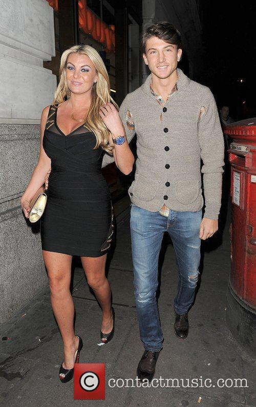 Billie Mucklow and Tom Kilbey leaving the May...