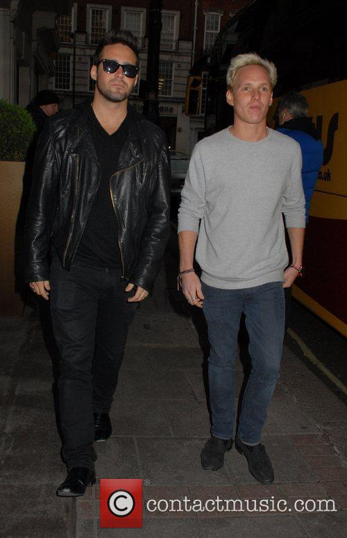 Spencer Matthews and Jamie Laing  The Cabin...