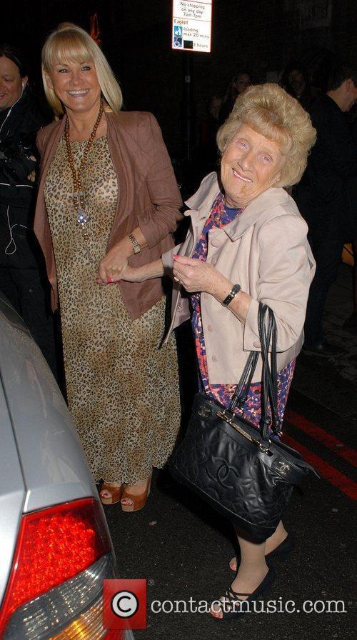 Nanny Pat  at the Cadbury Unwrap Gold...